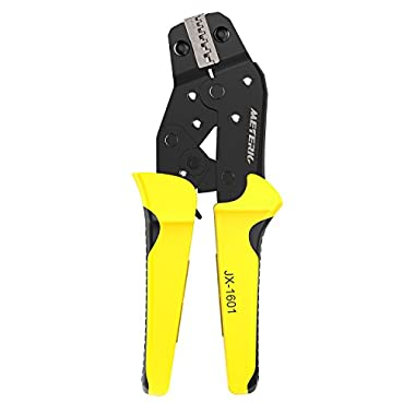 Meterk Crimping Tool Wire Crimpers With Carbon Steel Support Crimping Range Comfort Grip Terminals Connectors Ratcheting