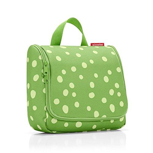 reisenthel toiletbag spots green Maße: 23 x 20 x 10 cm / Maße: 23 x 55 x 8,5 cm expanded / Volumen: 3 l