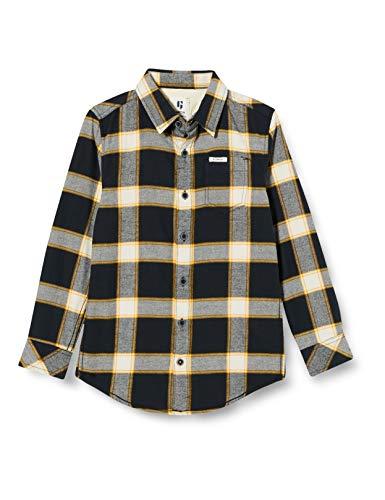 Garcia Kids Jungen T03630 Hemd, Off Black, 176