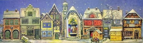"""Adventskalender \""""Die kleine Stadt\"""" von 1946"""