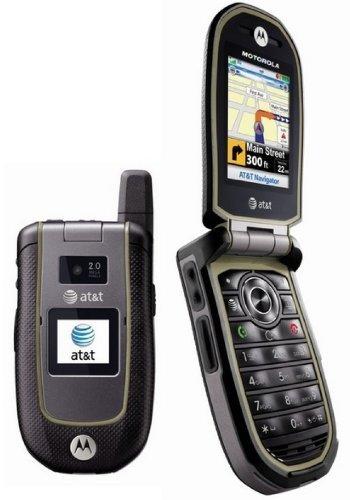 Motorola Tundra Va76r (Locked to At&t) Mp3 Camera Gps At&t -Grey