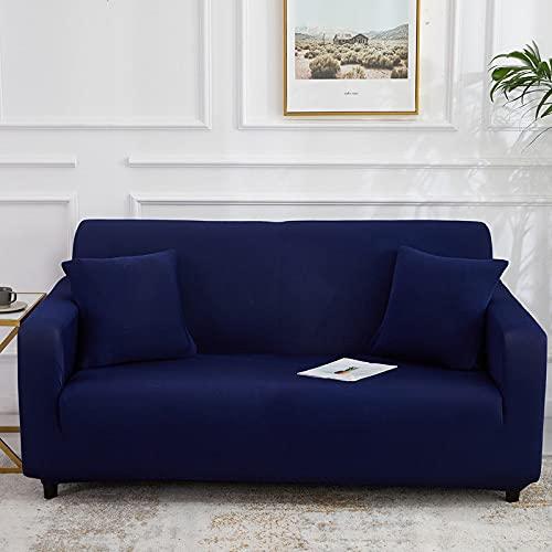 Funda de sofá de Alta Elasticidad para Sala de Estar Funda Universal de poliéster Funda de sofá elástica Funda de sofá de Esquina A13 1 Plaza