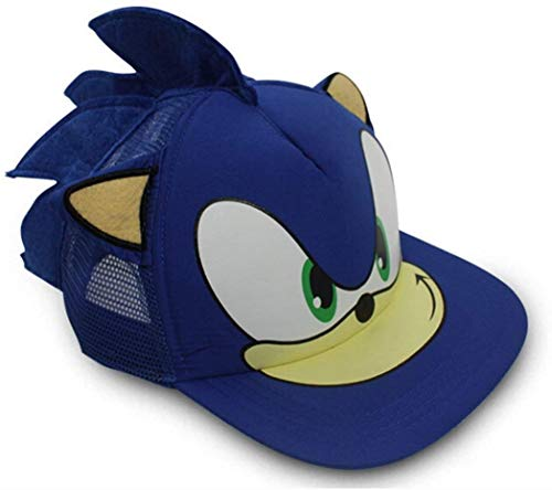 LacKINGONE Sonic The Hedgehog Spiel Cosplay Baseball Hut mit Ohren