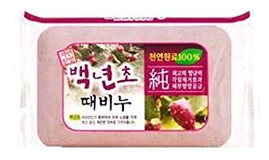 曖昧な延ばす広告人気の百年草のアカスリ石ケン 1個で900円、韓国本場の業務用アカスリせっけん、