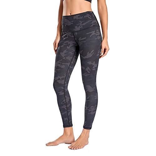 YANFANG Leggings de Yoga elásticos para Mujer, Fitness Correr Gimnasio Bolsillos Deportivos Pantalones Activos,Ropa de Chandal,, XXL,Gray