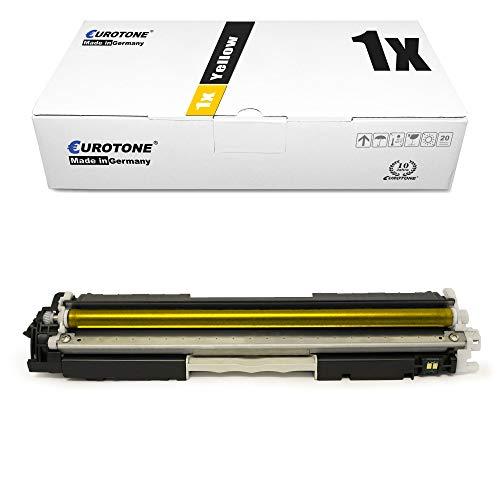 1x Eurotone kompatibler Toner für HP Laserjet CP 1025 NW Color ersetzt CE312A 126A
