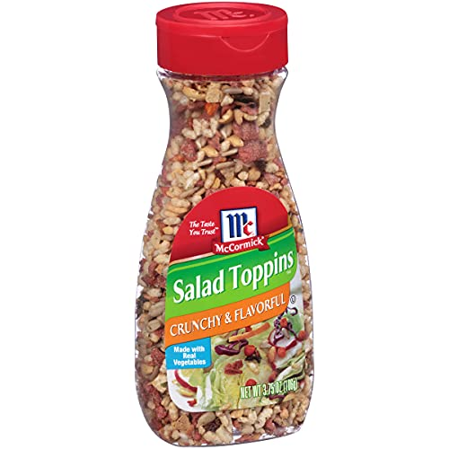 McCormick Crunchy & Flavorful Salad Toppings, 3.75 oz