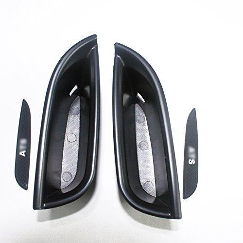 HIGH FLYING Door Front Inner Storage Glove Boxes Container 2PCS for Cadillac ATS 4dr Sedan 2014-2018