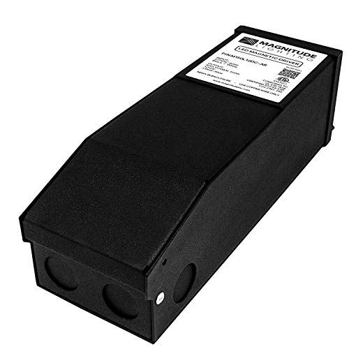 LED Dimmable Driver 150W (2.5A), Magnetic, 110V AC-24V DC Transformer, Low Voltage Power Supply for LED Strip Lights- Compatible w/Lutron & Leviton - for Kitchens, Cabinets, Bedrooms & More - USA Made