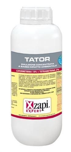 TATOR 1 LITRO insetticida Insetti Volanti e striscianti Cipermetrina Tetrametrina zanzare, Mosche, vespe, tignole, flebotomi, blatte, formiche