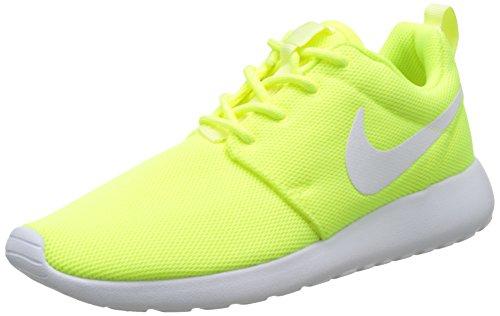 Nike Damen W Roshe One Laufschuhe, Gelb (Volt/White-Barely Volt), 39 EU