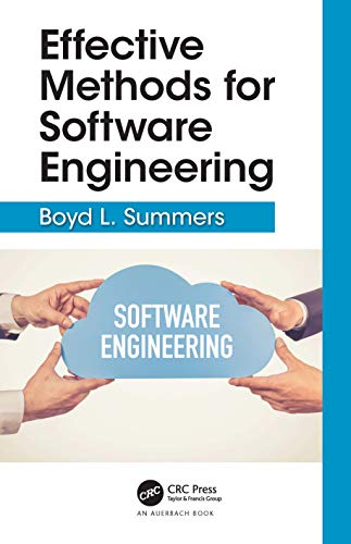 Effective Methods for Software Engineering Front Cover