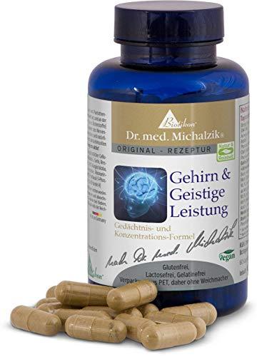 Gehirn & Geistige Leistung - BRAIN PLUS - B-Vitamine bioaktiv - nach Dr. med. Michalzik - ohne Zusatzstoffe - von BIOTIKON®