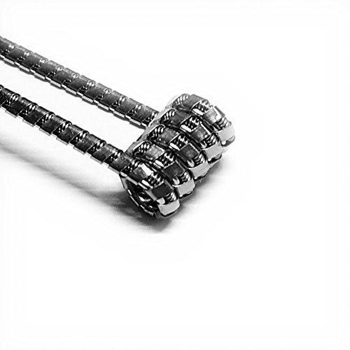 10x Super Juggernaut 0,3 Ω Coils Wire Prebuilt Fertig Wicklung RDA RBA Kanthal A1 Draht