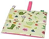 moses. Coussin de Genou Pliable en Feuille et Motif Floral, idéal pour Le Jardinage et d'autres Occasions en extérieur - avec imprimé coloré et Fleuri