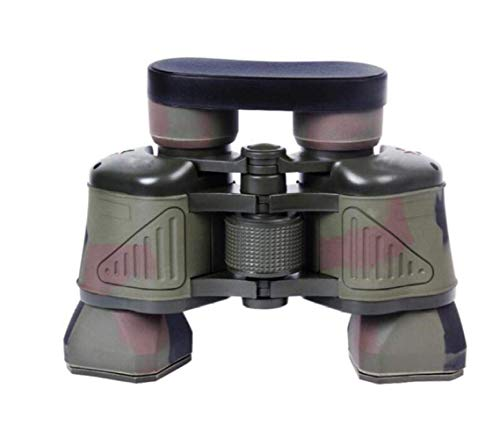 WYYHYPY Prismáticos HD Visión Nocturna de Alta definición Camuflaje del ejército Verde, coordinada de coordenadas telescopios celestron (Color : Camouflage)