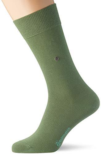 Burlington Herren Socken Lord, Baumwolle, 1 Paar, Grün (Khaki Green 7746), 40-46 (UK 6.5-11 Ι US 7.5-12)