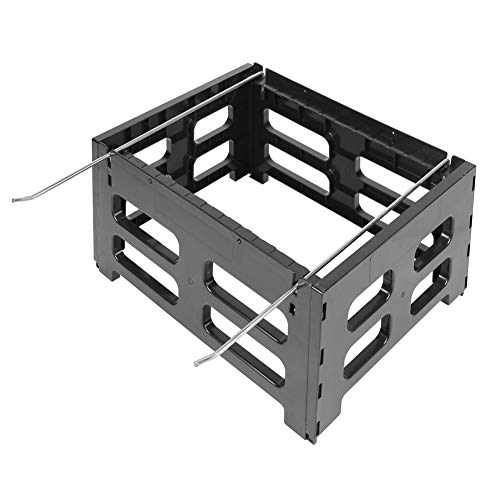 Soporte de colmena de plástico negro, soporte de colmena a prueba de humedad Soporte de colmena para colmena de 10 marcos
