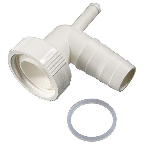 Xavax Dualer Siphonanschluss zum Anschluss von Kondenstrockner und Waschmaschine am Siphon