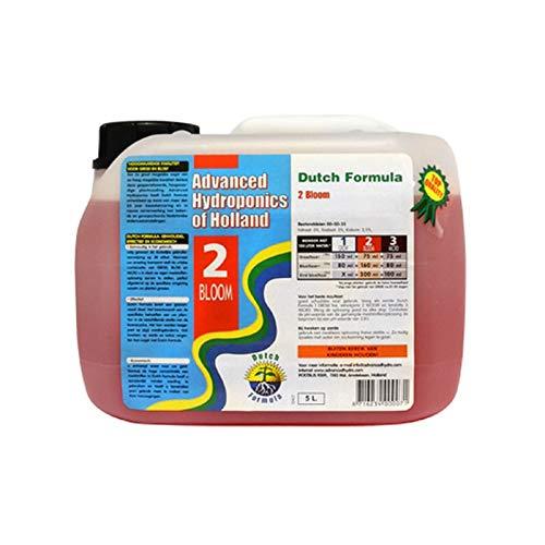 Weedness Advanced Hydroponics Bloom 10 litres – phase de floraison pour culture d'intérieur Engrais biologique pour tomates, concombres, engrais liquide organique