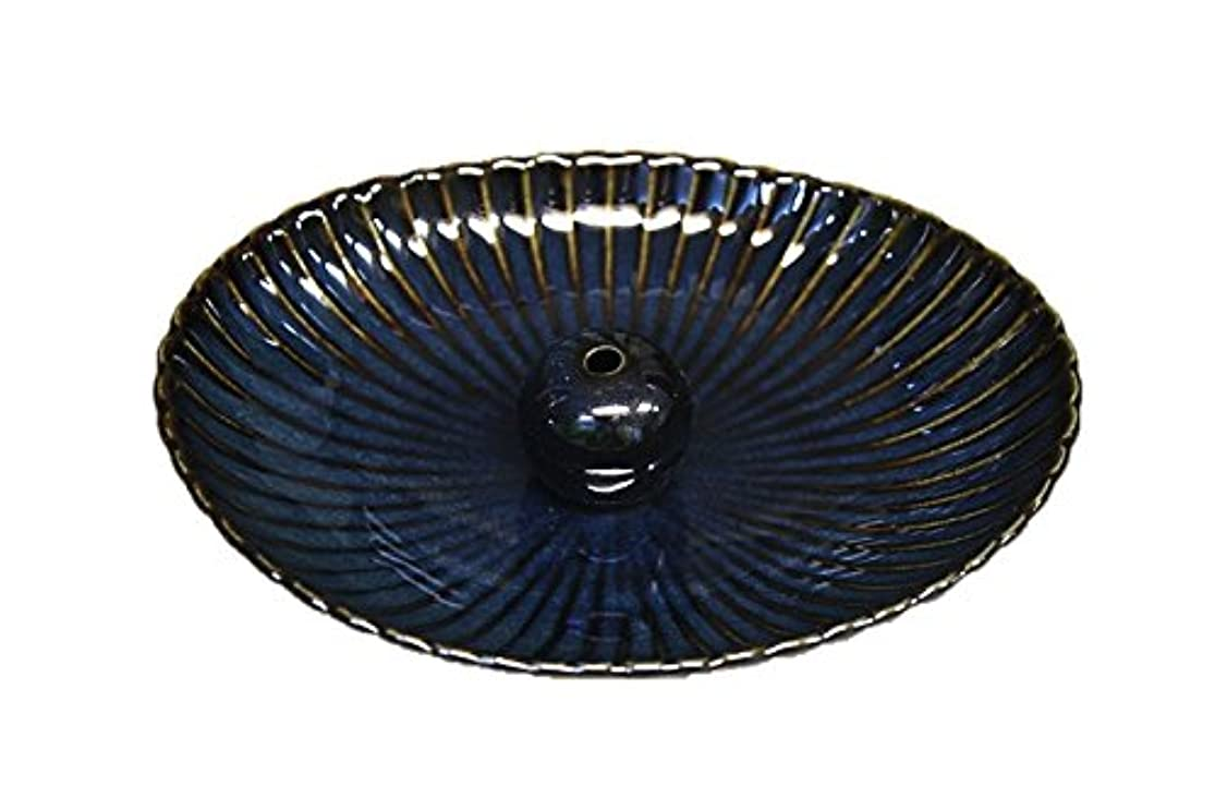 鳴らす不適取るに足らない海鼠 楕円皿 日本製 製造?直売 お香立て お香たて 陶器 少し深めな香皿