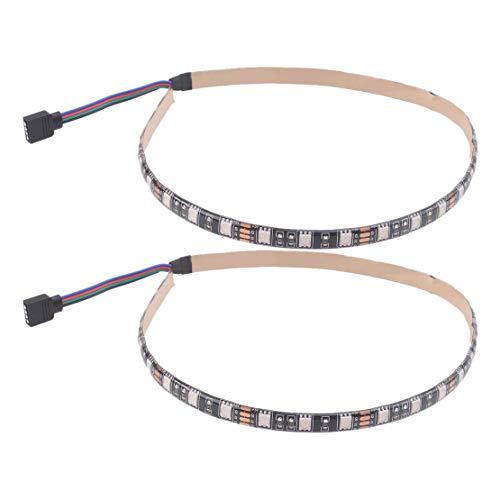 ciciTree 1 par colorido LED tiras de luz barras ajuste para xiaomi m365 m365 pro scooter eléctrico
