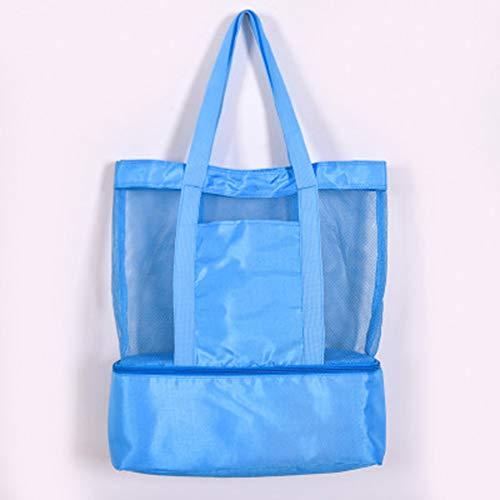 QXM dubbele geïsoleerde Lunch Bag Ice Bag multifunctionele Picnic Bag Camping Travel Opbergtas mannen en vrouwen Sporttas groot