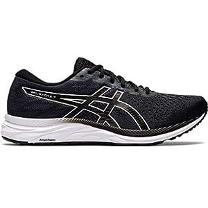 ASICS Men's Gel-Excite 7 Running Shoes, 10, Black/White