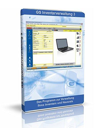 GS Inventarverwaltung 3 - Software zur Verwaltung von Inventar - Programm zur Verwaltung von Inventar