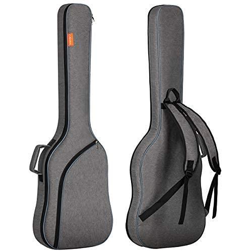 CAHAYA Electric Bass Guitar Bag Gig Bag Backpack Padded Soft Case...
