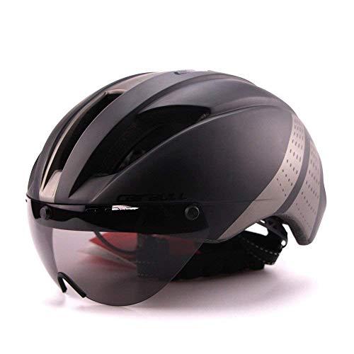 Cairbull Helmet Caschi Ciclo Casco Ciclismo con Occhiali Casco Regolabile Uomo Donne Mountain...