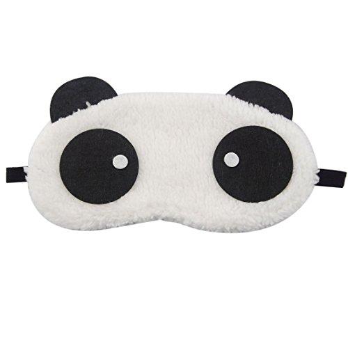CAOLATOR Panda Schlafmaske Augenmaske Reisen Schlaf-Beihilfen Komfortablen Schlaf Brille mit Elastisches Gummiband für Kinder Model-2