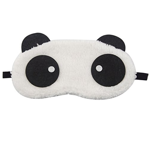 Demarkt Panda Oogmasker, slaapbril, slaapmasker, slaapmasker, slaapmasker, perfect voor thuis of op reis