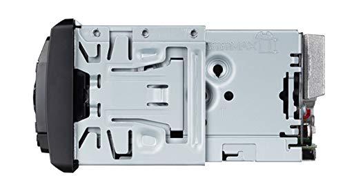 Pioneer-MVH-S420BT-1DIN-Autoradio-mit-RDS-rot-halbe-Einbautiefe-deutsche-Menuefuehrung-Bluetooth-USB-AUX-Eingang-iPodiPhone-Direktsteuerung-Freisprecheinrichtung-Smart-Sync