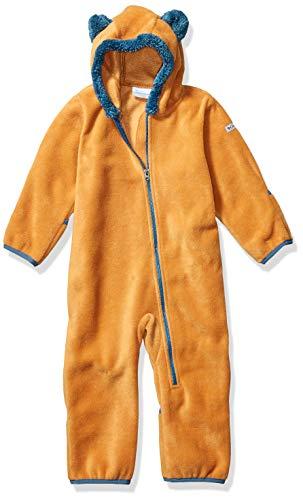 Columbia Tiny Bear II Bunting Veste Garcon Veste Garçon Canyon Gold, Blue FR: XS (Taille Fabricant: 6/12)
