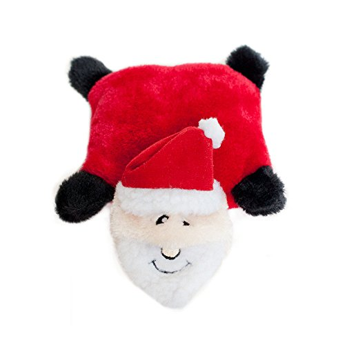 ZippyPaws - Holiday Squeakie Pad No Stuffing Plush Dog Toy
