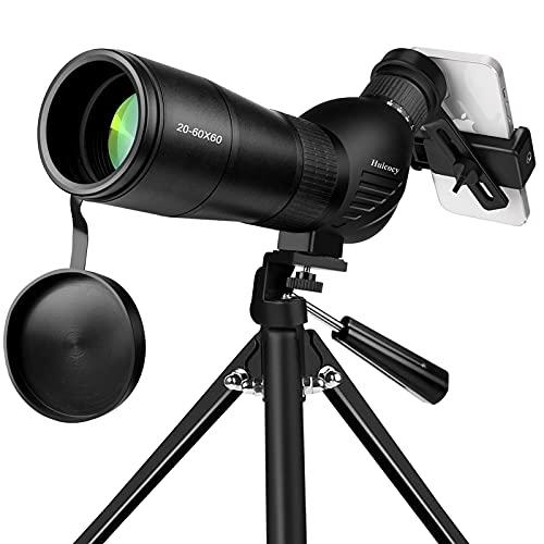 Spotting Scope, Huicocy 20-60x60mm Zoom 39-19m/1000m...