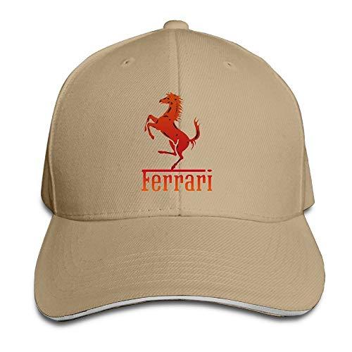 Ferrari Team Unisex Hip Hop Baseball Cap&Hat Royalblue,Sombreros y Gorras