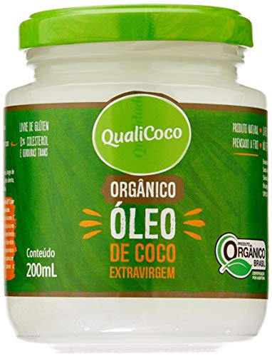 Oleo Coco Ev 200ml Orgânico