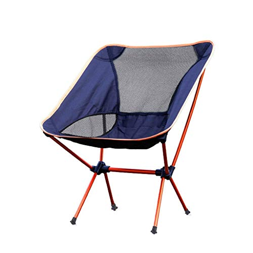 MMAXZ Sedie da Campeggio Pieghevoli, compatte e Leggere, Portatili, Traspiranti, comode, perfette per l'esterno, Campeggio, Escursionismo, Picnic
