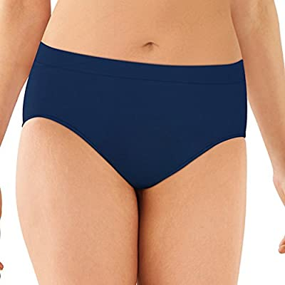 Bali One Smooth U All Around Smoothing High-Cut Panty in The Navy XL by Bali