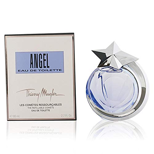 Thierry Mugler Eau de Toilette Spray Refillable for Women, Angel Comet, 1.4 Ounce