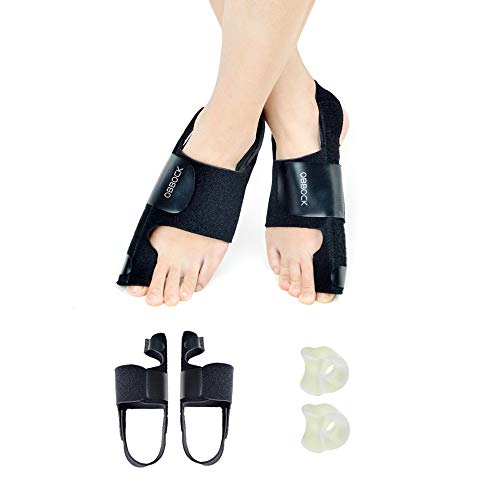 OBBOCK Bunion Corrector for Women,and for Men,Bunion Splint,Valgus Aid Surgery Fits Orthopedic Bunion Corrector,Night use,Bunions Pain Relief, from Germany (Toe-B-4)