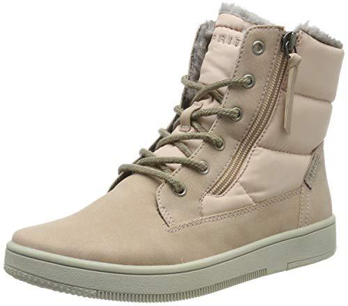 ESPRIT Damen Desire Bootie Hohe Sneaker, Pink (Dark Old Pink 675), 38 EU