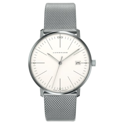 Junghans Damen-Armbanduhr XS Max Bill Analog Quarz Edelstahl 047/4250.44