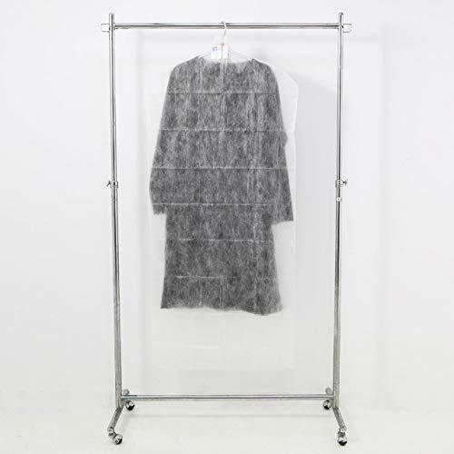 無印良品不織布衣類カバー・ロング丈用1枚入・60×130cm15905669,白
