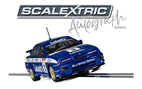 Scalextric C3867AE Autograph Edition - Ford Sierra RS500 Tim Harvey