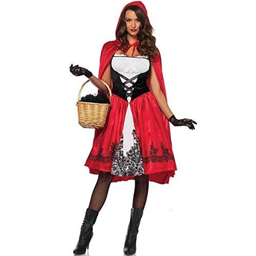 ZHANGHUI Trajes de Miedo Vestido de Halloween for los niños, Halloween se Viste for los Adolescentes, Vestido de Halloween de los niños (Color : Hat Clothes Skirt, Size : XXL)