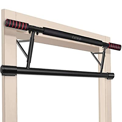 Estleys Foldable Pull-Up Bar Doorway Trainer, Chin-Up Bars for Door Frames, Workout for Home Gym Exercise, Without Screws/Drilling