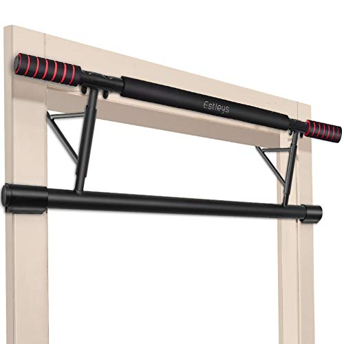 Estleys Foldable Pull-Up Bar Doorway Trainer, Chin-Up Bars for Door Frames, Workout for Home Gym...